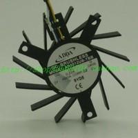 5cm ad0512ub-tbb 12V 0.22a 4 wires dual ball graphics card fan