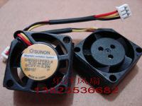 2cm  GM0501PFB3-8 2010 5V 0.2W 3 wires  ball bearing cooling fan