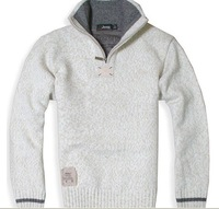 Hot sale 2012 New Men's brand Winter Fashion Casual Thickening Wool Pullovers Sweater / M-XXL