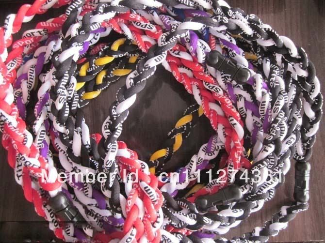 "necklaces titanium factory price best quality 18"" 20"" 22"" titanium can customize necklace many colors can choose. 500pcs/lot(China (Mainland))"