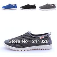 Men Summer Korea Fashion Flat Canvas Shoes Eu 39-44 Breathable & Comfort Jean-Match Leisure Men's Sneakers 08108