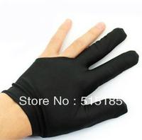 free shipping wholesale 20pairs/lot quality black elasticthree finger  yoyo gloves for yo-yo