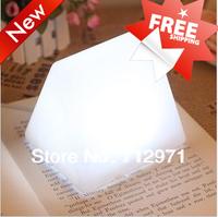 LED home desktop night lamp/BB mood sleep lamp/Cube design lamp/warm and yellow light