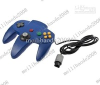2pcs K23 Game Controller Joystick For Nintendo 64 N64 System Blue