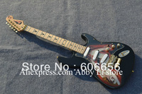 classic Stratocaster beauty picture body electric guitar HOT SALE
