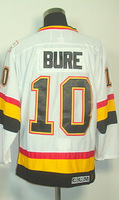 #10 Pavel Bure Men's Classic Vintage White Throwback Hockey Jersey