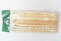 "New 2014 Free shipping 12 Sizes 6"" Bamboo Crochet Hooks Knitting Needles 3-10mm"