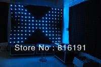 Профессиональное осветительное оборудование Christmas 2*3 led fireproof led star curtain, 120pieces leds+ controller