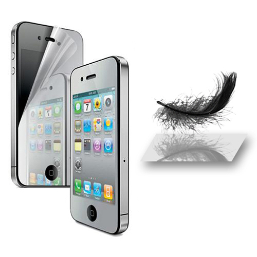 Mirror Reflect Anti-Scratch Screen Protector Film Shield For Apple iPhone 4/4s(China (Mainland))