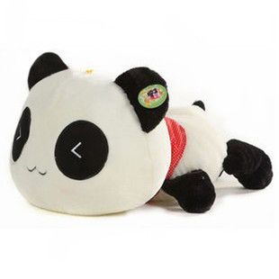 Plush toy cushion pillow giant panda plush toy doll Large gift