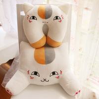 Pillow cat plush toy doll pillow cute cushion lumbar pillow