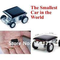 Free Shipping New Smallest Design Solar Energy Mini Solar Car for Kids