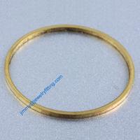 1000 PCS Raw Brass Circle 30*1*1.2 mm copper Rings fashion jewelry findings jewellry Conntctors Quoit
