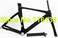 Full Carbon 3k Time Trial TT Triathlon Bike Frame , fork , Seatpost , Headset - 54cm