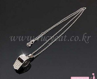 <Min.order $15,can mix models> Korean fashion whistle pendant necklace 1235