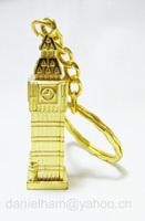 UK London keyring 2012 London Olympic souvenirs key chains 2014 new London red metal big ben key ring free shipping !