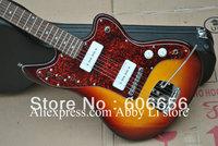 Sunburst jazzmaster electric guitar made in china guitar