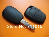 Renault 2 button remote key shell case only blank two button