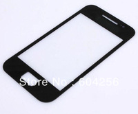 Front Glass Outer Lens Cover Top LCD Screen For Samsung Galaxy Ace S5830 + 3M adhesive stiker