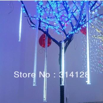 50cm 72 LED christmas meteor rain tube light,led running light tube 10tube/set