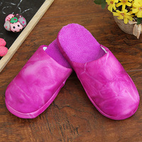 FREE SHIPPING At home interior floor slippers fashion women's derlook cotton-padded slippers mnk074 0.18kg