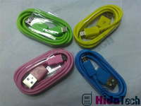 100pcs/lot, DHL Free Shipping!Mobile Phone V8 / V9 Pin Micro USB Cable for Samsung Galaxy S1/S2/S3/Note 1/ Note 2