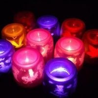 Projection candle decoration lamp decoration