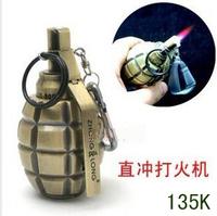 Large zl-808 metal grenade lighter ver5 worshippers windproof model