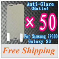 Wholesales Price 50PCS/LOT Matte Frosted Screen Protector for Samsung Galaxy S3 i9300