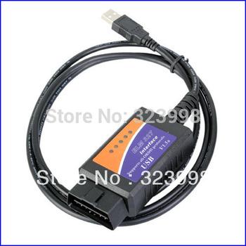 ELM327 USB V1.5 OBDII OBD2 CAN-BUS Diagnostic Scanner