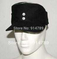 WWII GERMAN ELITE OFFICER SUMMER PANZER M43 FIELD COTTON CAP SIZE M -32045