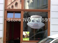 Holographic Rear projector film/foil/screen for Digital signage, glasses window, for Automobile exhibition hall, free shipping