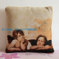 Pillowcase 1PCS 17 inch (45cm*45cm) Cute Little Angel Cotton Pillow Cushion Cover For Sofa or Bed P86