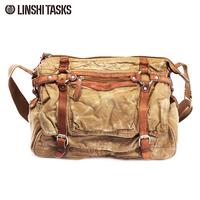 New arrival hotsale  vintage man canvas bag travel bag shoulder bag L104AG02-20