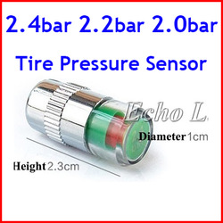 New Year Best Quality Gift Tire Pressure Sensor Monitor Pressure Gauge Indicator Valve Stem Cap Sensor Eye Alert(China (Mainland))