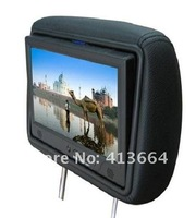 2012-low price 9 inch taxi headrest TFT LCD advertising player + SD card updating made in China