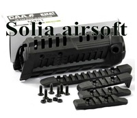 Command Arms CAA M4S1 Handguard with Extra Rail Black (M4S1-F-BK)