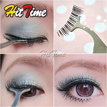 Beauty Tool Multifunction False Eyelashes Eyebrow Stainless Auxiliary Tweezers Clip  [22373|01|01]