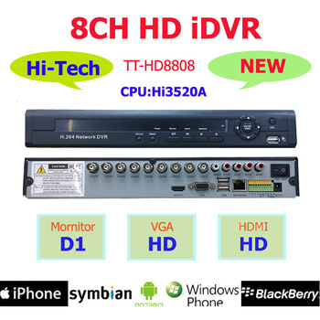 Hot New Hi-Tech Hi3520A 4/8/16CH 3G WIFI High Definition HD iDVR with HDMI