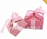 hot sell individual MOQ 300pcs in high quality excellent paper customized wedding souvenirs box