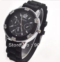 2012 Luxury Watch Woman Fashion Imitation Diamond Shinning Quartz Watch wrist watch 10pcs/lot+free shipping