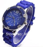 2012 Luxury Watch Woman Fashion Imitation Diamond Shinning Quartz Watch wrist watch 100pcs/lot+free shipping