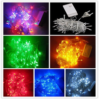 LED String Light 10m Multicolor 100 LEDS Christmas Light Wedding Decoration Fairy Lights With 8 Display Modes Free Shipping