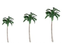 100pc 120mm model tree palm for model model train scenery layout