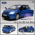 Alloy car models FORD fox rs acoustooptical WARRIOR car model toy