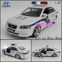 Alloy police car toy artificial car model modern barrowload