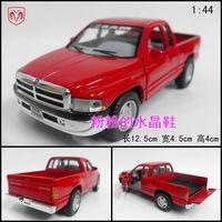 Soft world car model toy car dodge pickup dodge ram WARRIOR car red