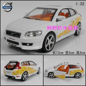 Plain VOLVO c30 WARRIOR gold car model car toy