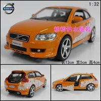 Alloy car models toy WARRIOR VOLVO c30