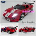 Alloy car model toy car FORD ford gt plain WARRIOR red
